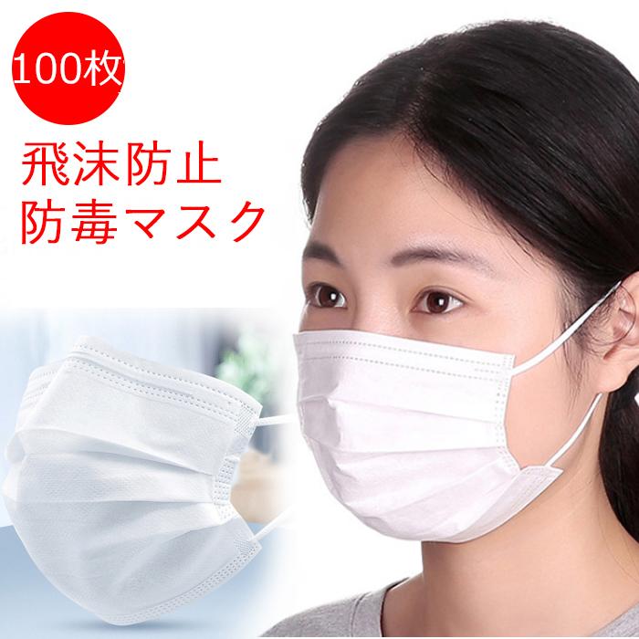 不織布 マスク 送料無料【100枚入 価格 5,960円 (税込)】